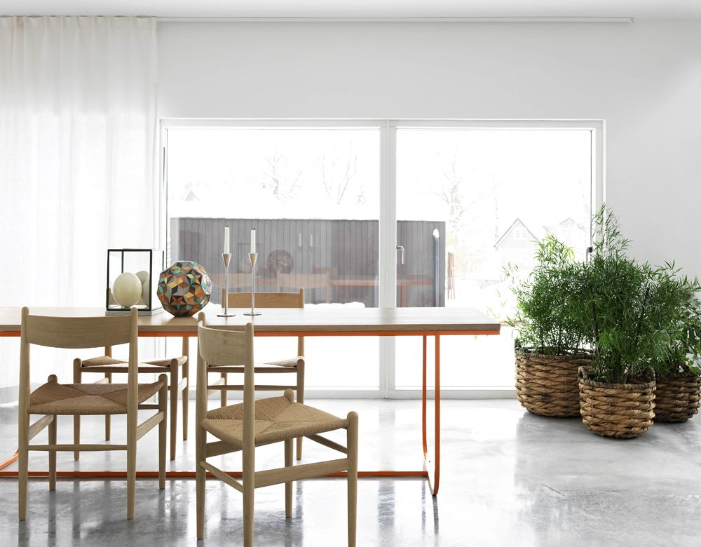 Bright Dining Room in Copenhagen