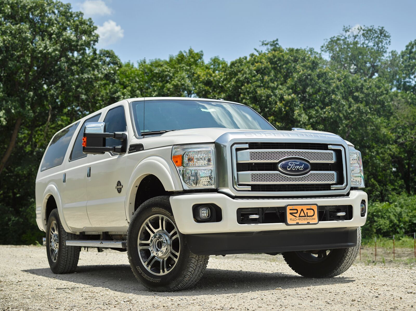2015 Ford Super Duty Excursion Conversion By Reed Auto Design