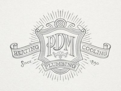 Pdm Corporate Branding Creative Logo Personalized Identity
