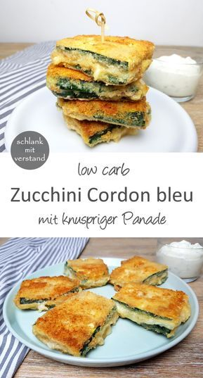 Zucchini Cordon bleu low carb #lowcarbveggies