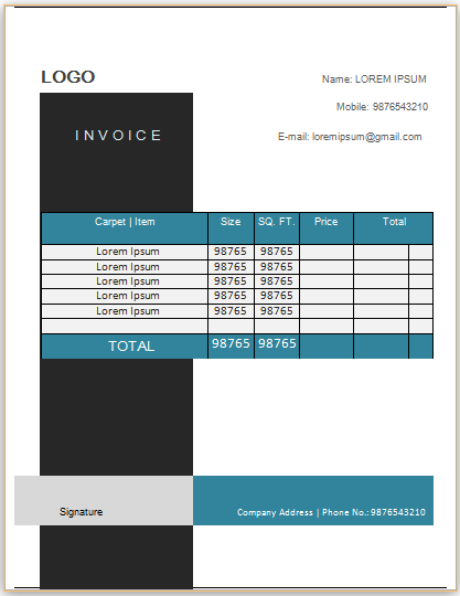 Carpet Cleaning Invoice Template 20 Commercial Floor Cleaning Professional Carpet Cleaning Carpet Cleaning Business