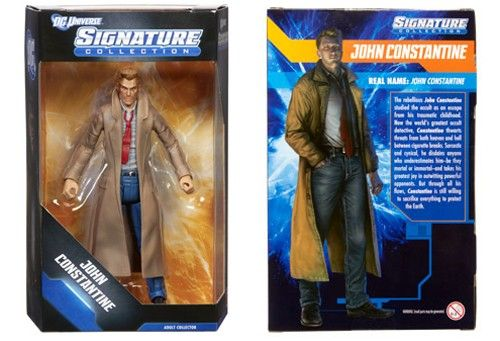 Mattel Unveils 'New 52' John Constantine Club Infinite Earths Figure