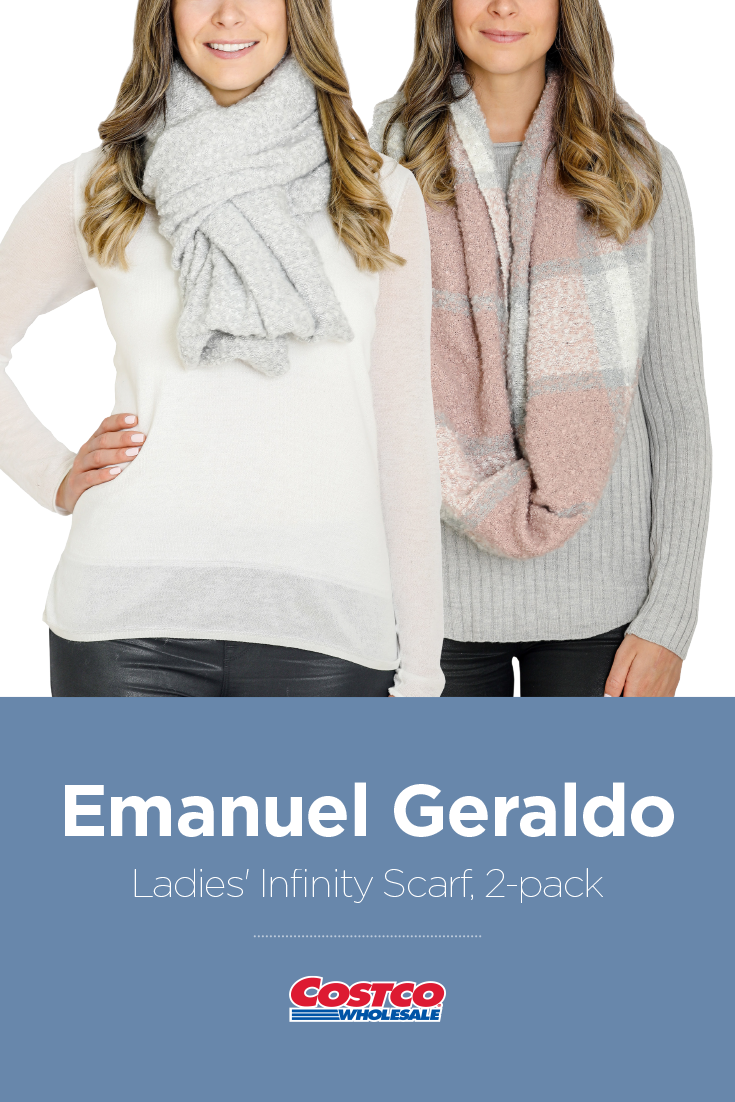 733c6dcf3d Emanuel Geraldo Ladies  Infinity Scarf