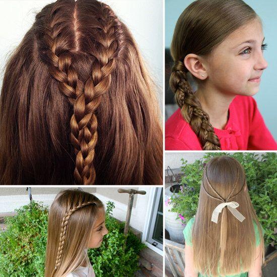Das Nettes Madchen Zopfe Klein Madchen Zopfe Und Pferdeschwanze Frauenfrisur Com Frisuren Inspiration Frisuren Lange Haare Madchen Lange Haare