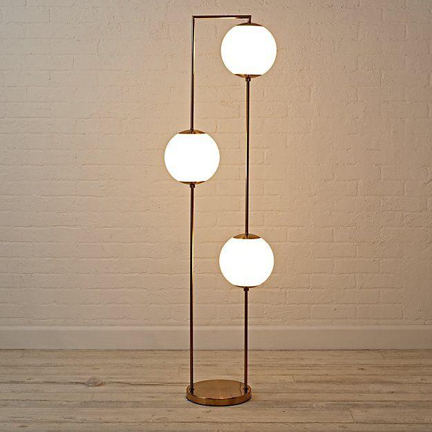 Cosmos Floor Lamp The Land Of Nod 219 Unique Floor Lamps Floor Lamps Living Room Modern Floor Lamps