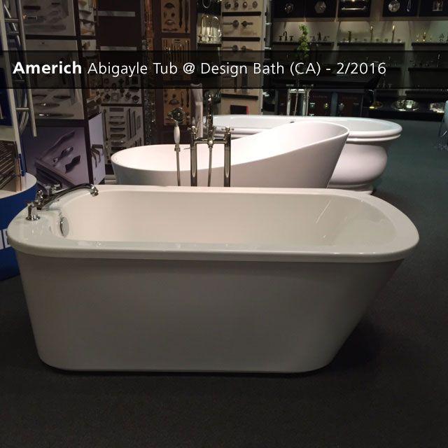 Bathroom Showrooms Torrance Ca americh abigayle tub @ design bath (ca) 2/2016 | showroom displays