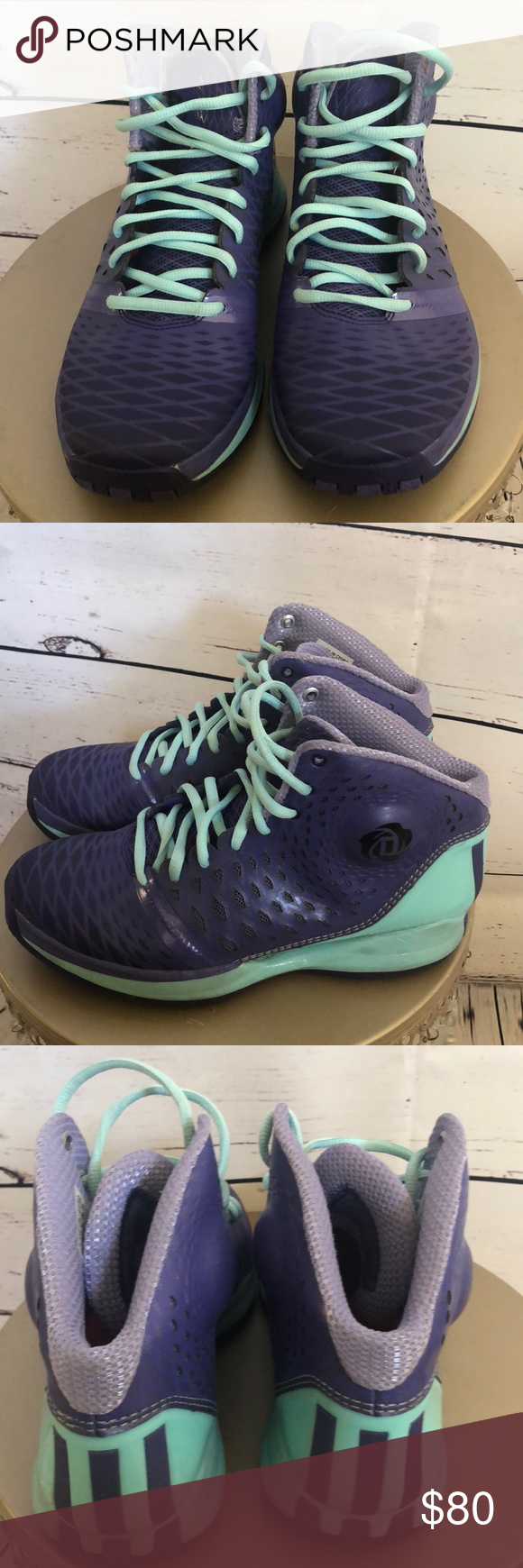 8808c8fb523 Purple Derrick Rose 3.5 Adidas Murray Park Winter Awesome shoes ...