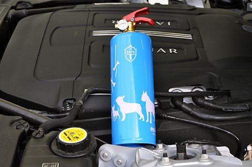 """Feuerlöscher """"DOGS"""", perfekte Symbiose aus Design und Funktion. Dieses Lifestyle-Produkt ist ein absolutes Must-Have"""
