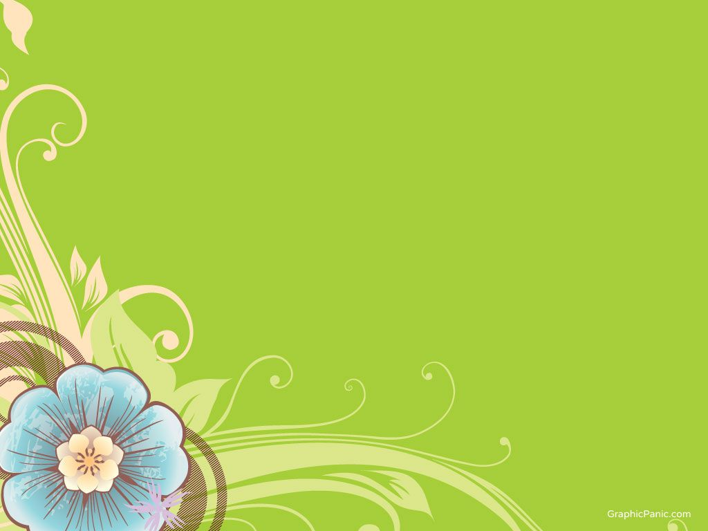 Beautiful Flower Background Powerpoint Background And Templates