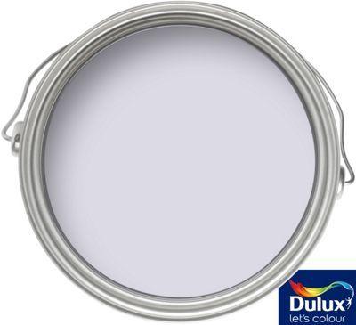 Dulux Violet White Matt Emulsion Paint 2 5l