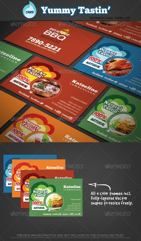 Yummy tasting restaurant business card template pinterest card yummy tasting restaurant business card template accmission Image collections