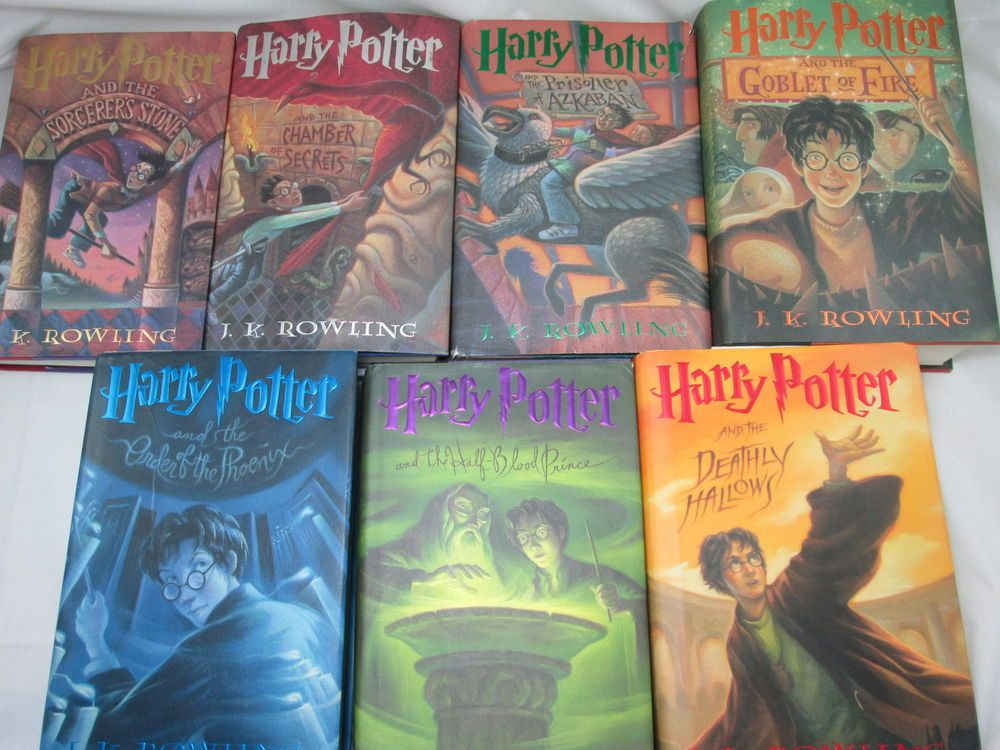 first edition harry potter books