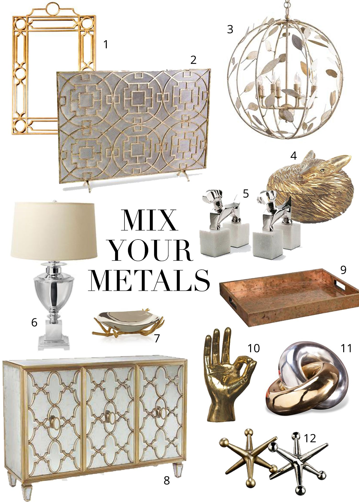 Mixing Metals The Do S And Don Ts Home Amp Design Home
