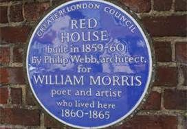 Red House in Bexleyheath in southeast London, England - Bing Images. William Morris' house. Morris was a leader in the Arts and Craft Movement.