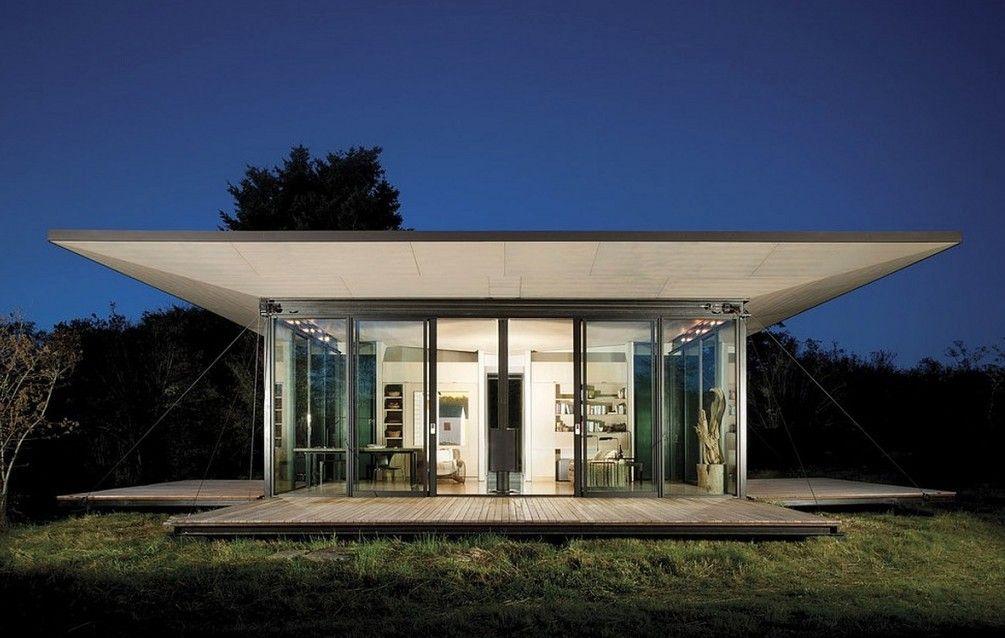 False+Bay+Writer's+Cabin+par+Olson+Kundig+Architects