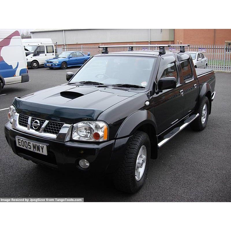 nissan navara d22 d23 wind deflectors 4 door piese tuning 4x4 nissan pick up pinterest. Black Bedroom Furniture Sets. Home Design Ideas
