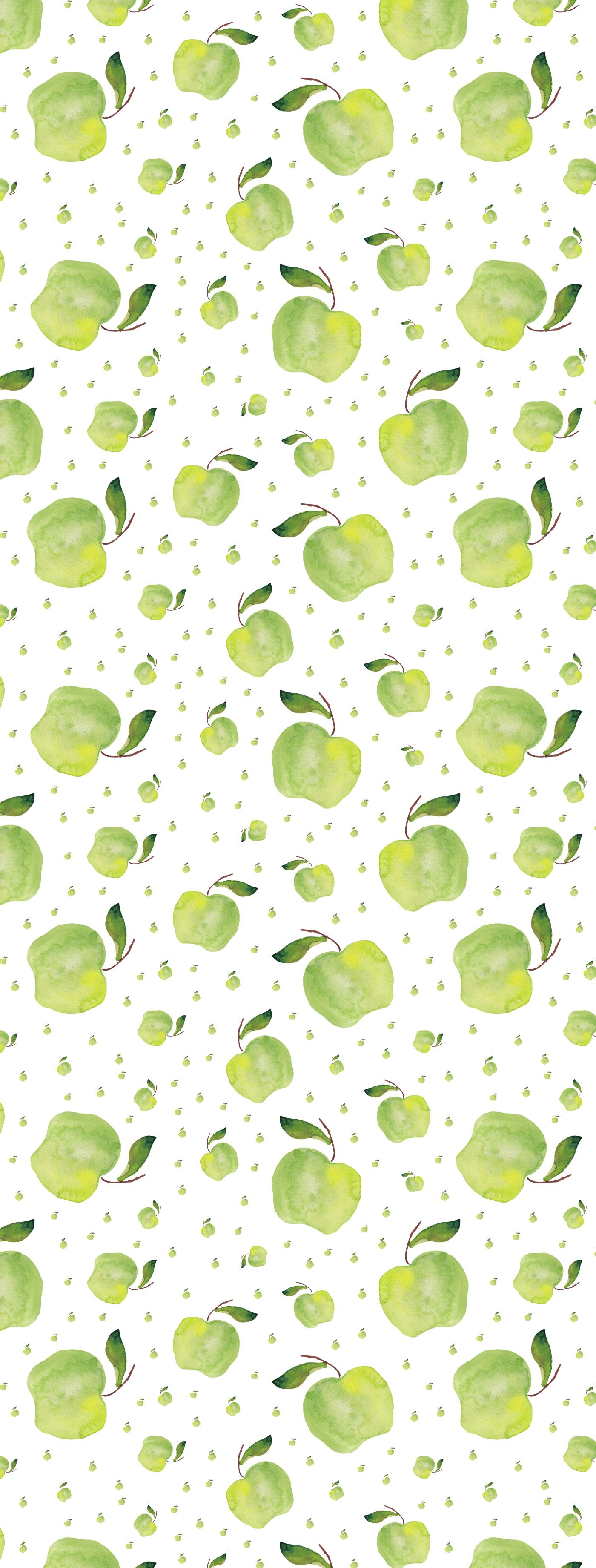 Photo of Watercolor Fruit Patterns