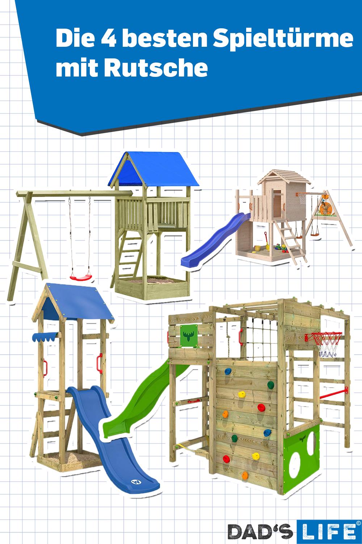 Ein Spielturm Mit Rutsche Sorgt Fur Abwechslung Und Bewegung Worauf Es Beim Kauf Ankommt Und Welche Spielturme Fur Kin In 2020 Spielturm Mit Rutsche Spielturm Rutsche