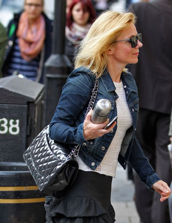 f32c6f0a63ee Celebrities and Their Chanel Bags-29 | Classic Chanel 2.55 Quilted ...