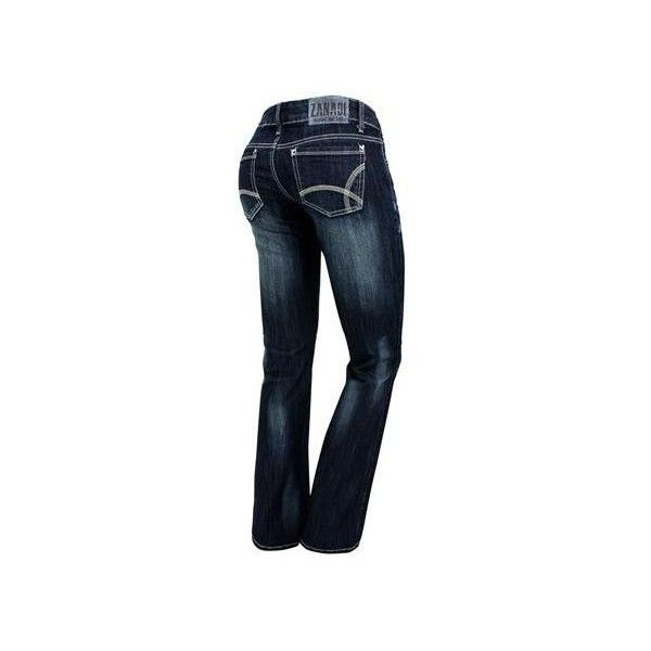 Zana Di Bootcut Jeans ($15) found on Polyvore