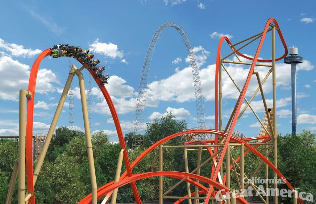 Railblazer Opening 2018 At Great America Great America Theme Parks Rides New Roller Coaster