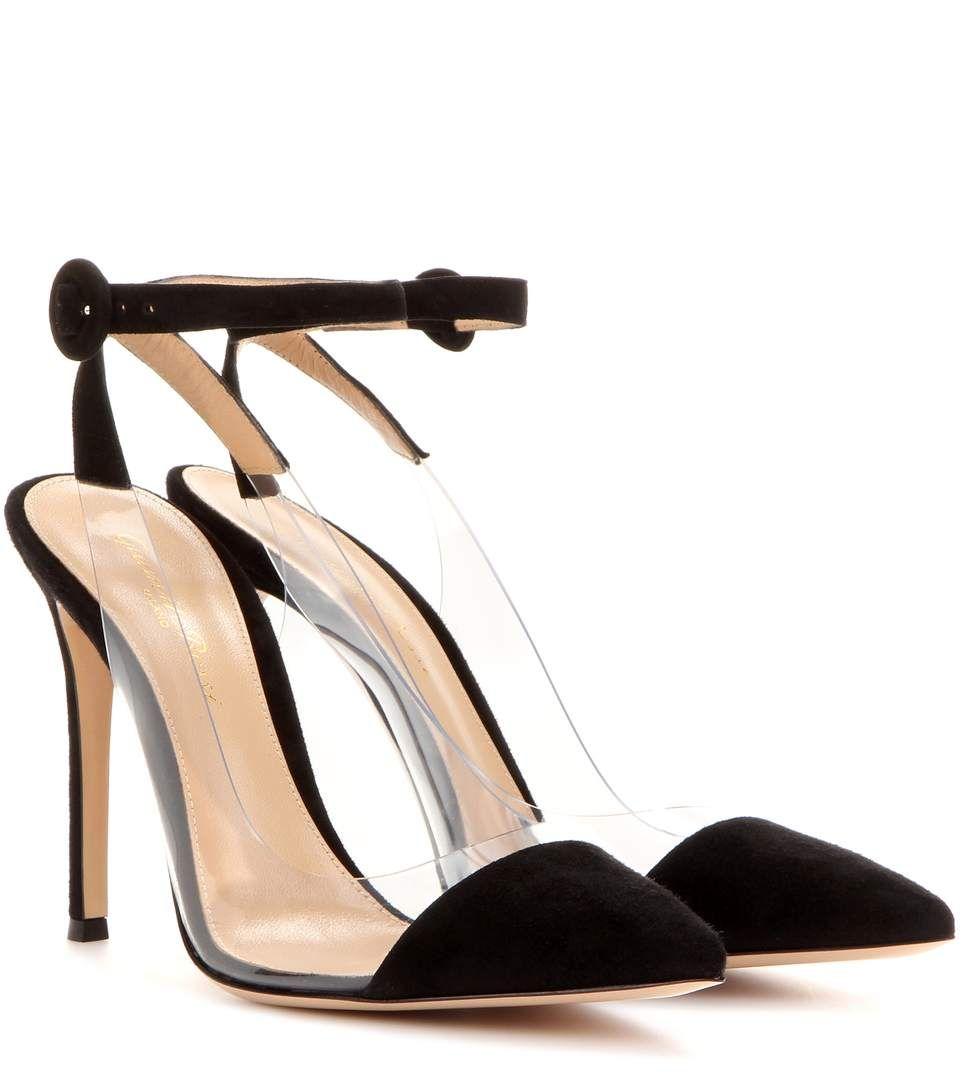 7009853c85b mytheresa.com - Anise suede leather pumps - Luxury Fashion for Women    Designer clothing