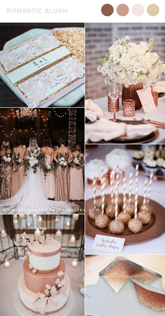 Gorgeous Sparkly and Metallic Wedding Colors to Be Continued