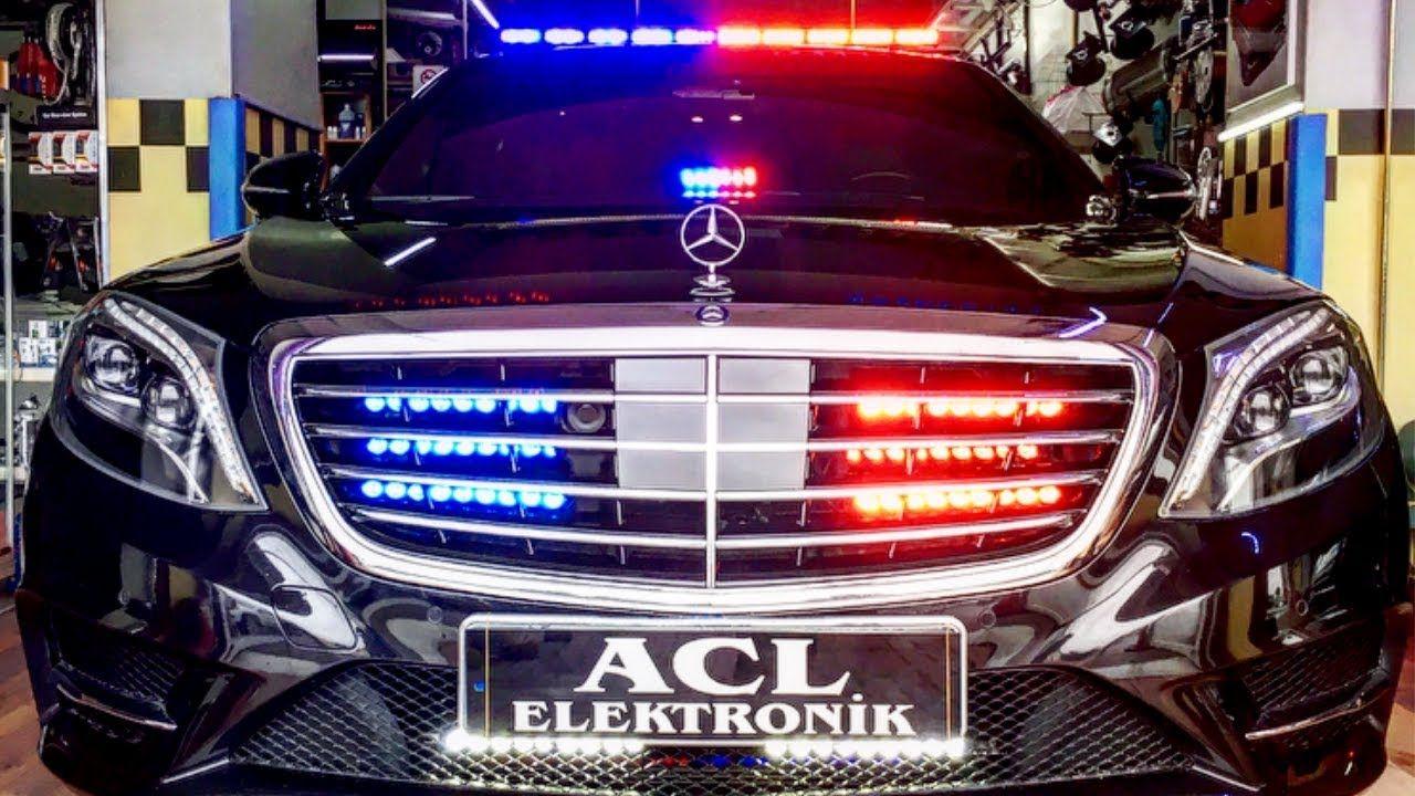 new police light and siren systems polis cakarta lamba