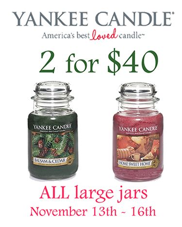 """Large jar sale going on now through Sunday, November 16th.  Great gifts for you, a loved one, secret santa, or any """"hard to buy for"""" people on your list."""