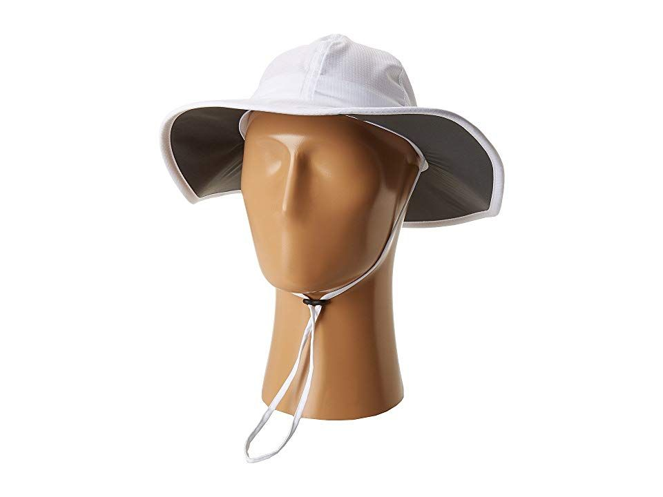 Columbia Sun Goddesstm II Booney White Caps This flexible booney from Columbia adjusts quickly to suit your needs and provides allday protection from the sun Durable rips...
