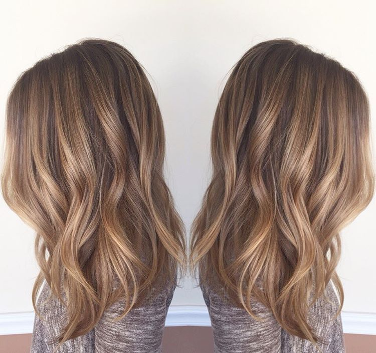 From Blonde To Bronde Mallory Came In With Washed Out Foil Hilites