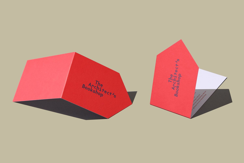 New Branding For The Architect S Bookshop By Garbett Bp O Business Card Design Creative Business Card Design Business Cards Creative