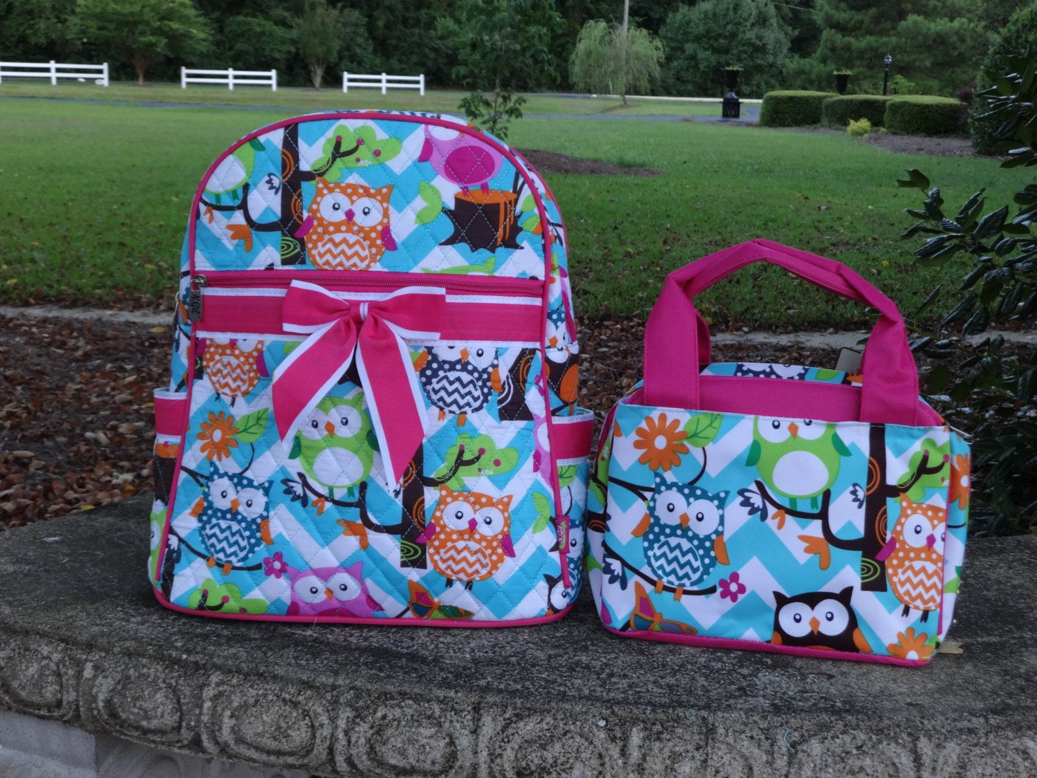 Personalized Girls Backpack 14.5