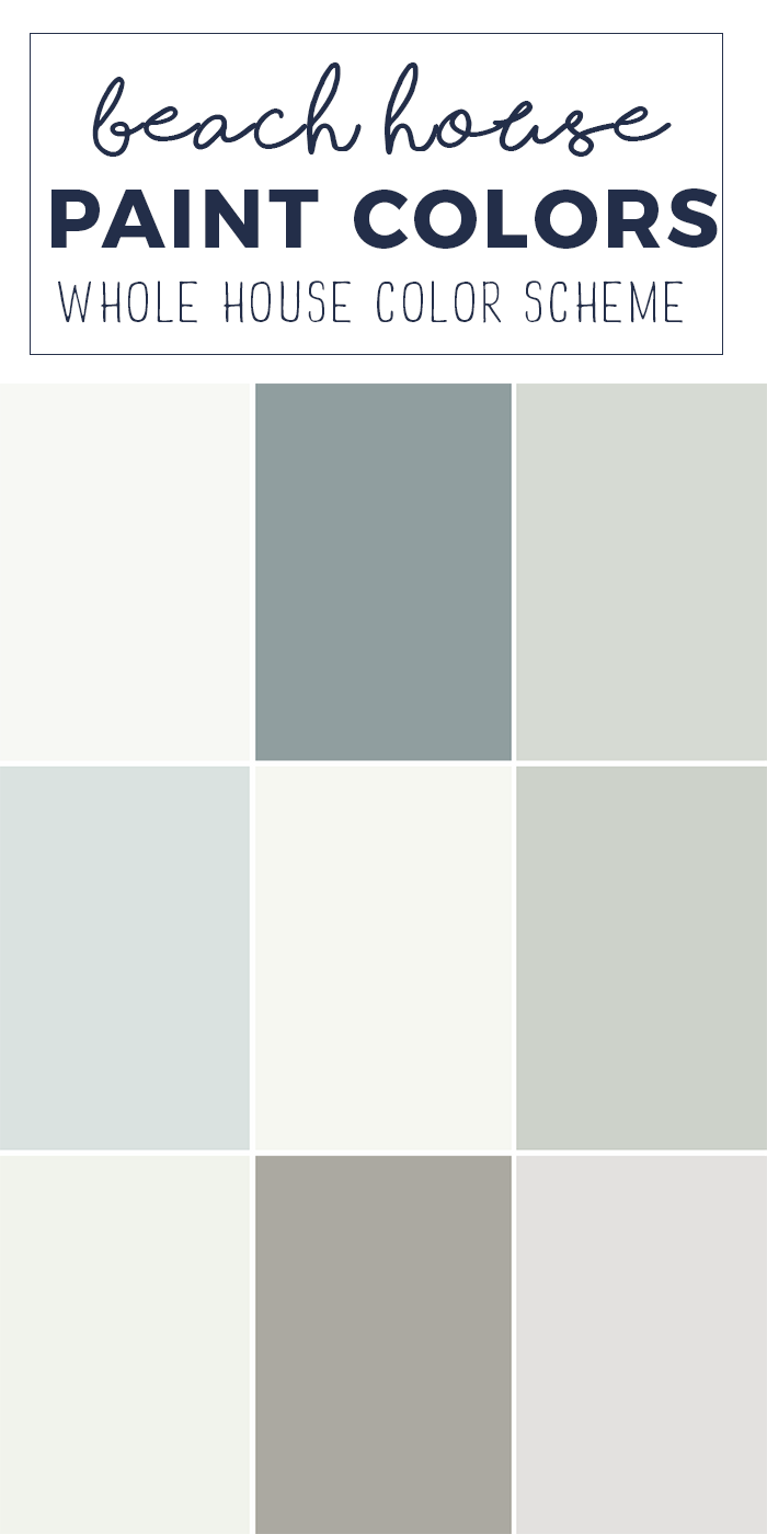 Swell Paint Colors For A Whole Home Color Palette Calming Home Interior And Landscaping Ologienasavecom