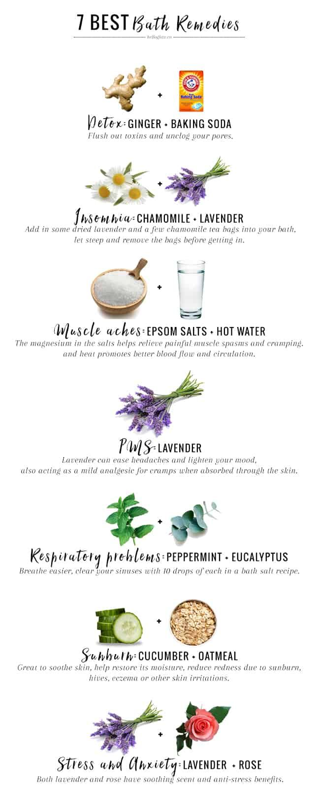 Photo of 7 Best Bath Remedies For Everyday Ailments | Hello Glow