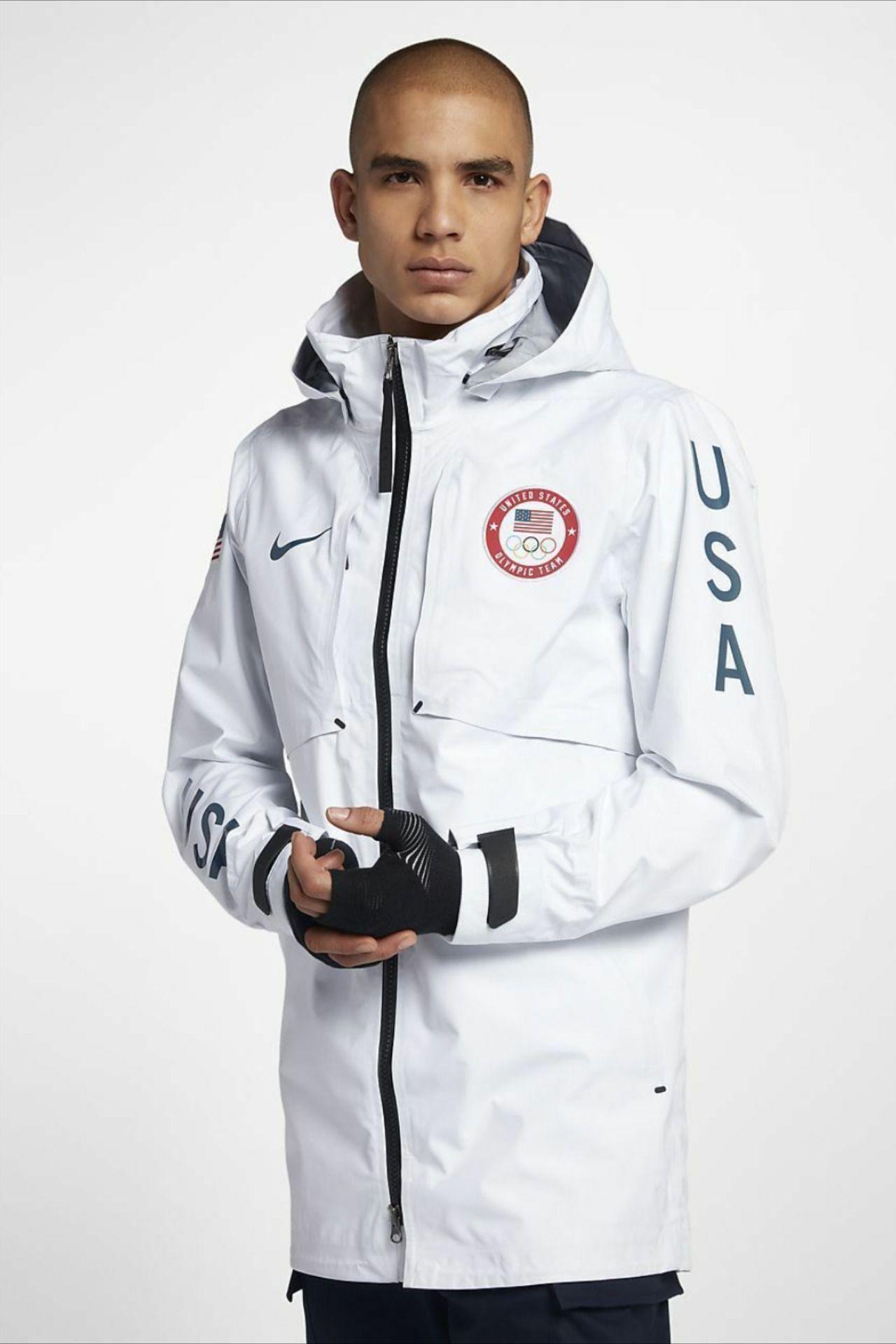 Nikelab Usa Winter Olympic Summit White Goretex Jacket Size L 916648 100 Mens Jackets Mens Nike Jacket Jackets [ 1920 x 1280 Pixel ]