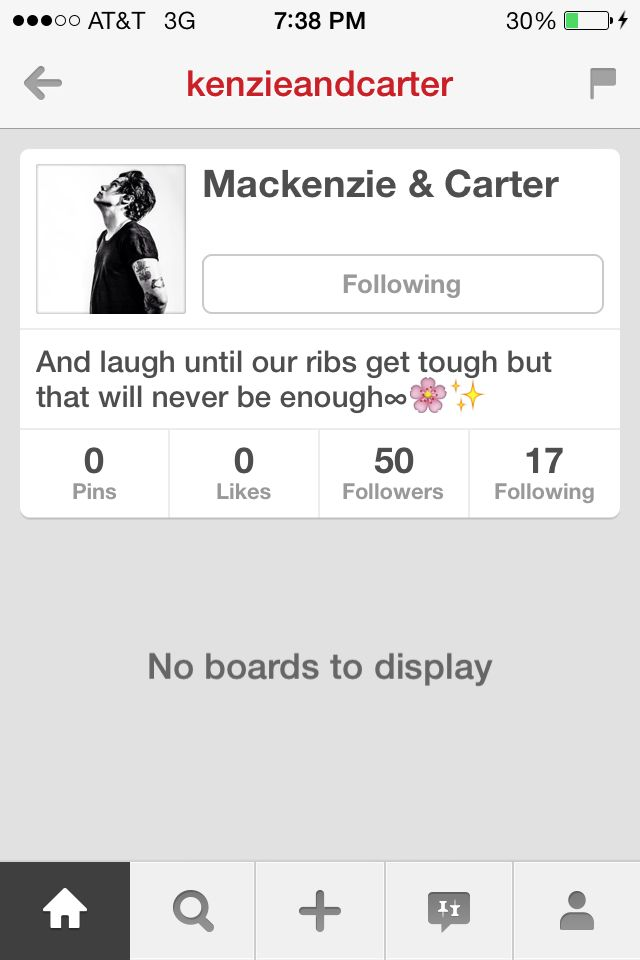 Follow @Mackenzie & Carter its @Ziegler's Perfection✨♡ and her friends account!