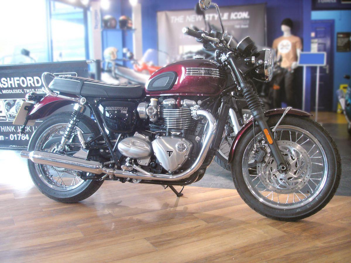 Triumph Bonneville T120 With Prestige Kit Bikes Triumph