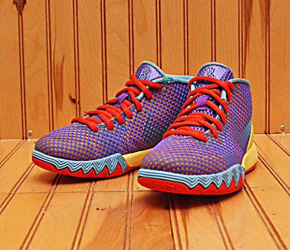 quality design fad3b 6e548 2014 Nike Kyrie 1 Size 1Y - Saturdays Purple Yellow Blue Red - 717220 700    Clothing, Shoes   Accessories, Kids  Clothing, Shoes   Accs, Boys  Shoes    eBay!