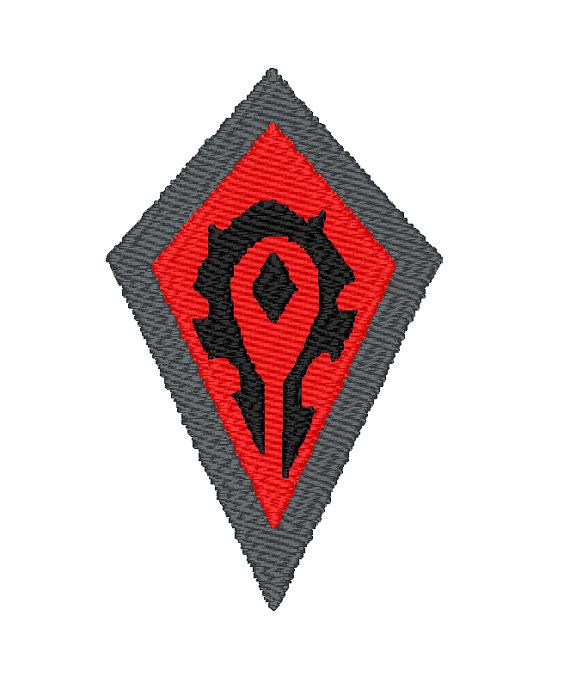 Wow Horde Logo Machine Embroidery Design Pattern Download 3