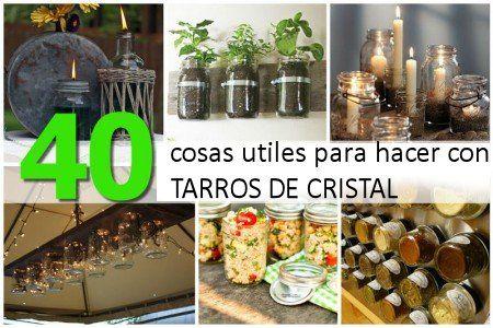 40 usos creativos para reciclar tarros de vidrio diy for Reciclar frascos de vidrio de cafe