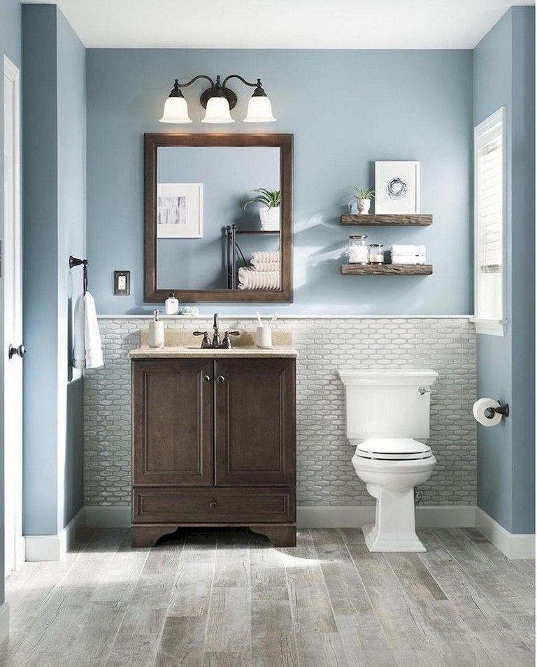 80 Amazing Master Bathroom Decor Ideas And Remodel Bathroomdecor Bathroomdecorideas Budget Bathroom Remodel Small Bathroom Vanities Modern Small Bathrooms