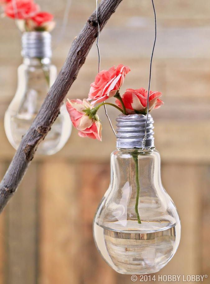 12 Bright Ideas For Light Bulb Jar Gifts Deco Exterieure Decoration Mariage Idee Peinture