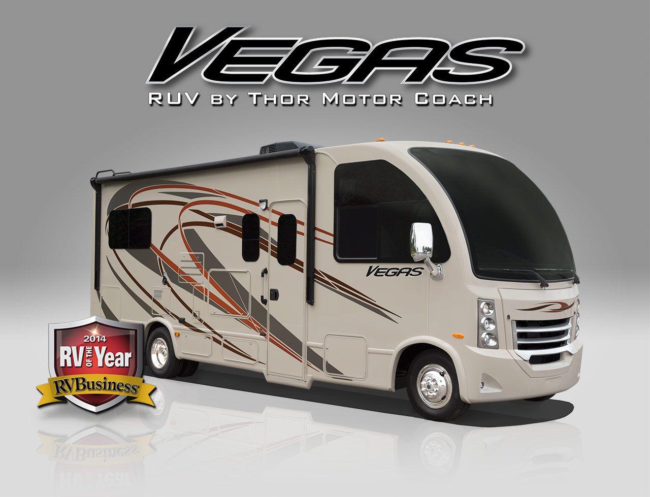 2015 vegas ruv motorhomes class a rv by thor motor coach for Class a motor coach