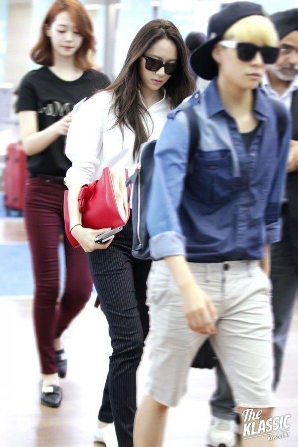 Pix For Krystal Airport Fashion 2014 Krystal Jung Fashion Fashion Jessica Jung Fashion