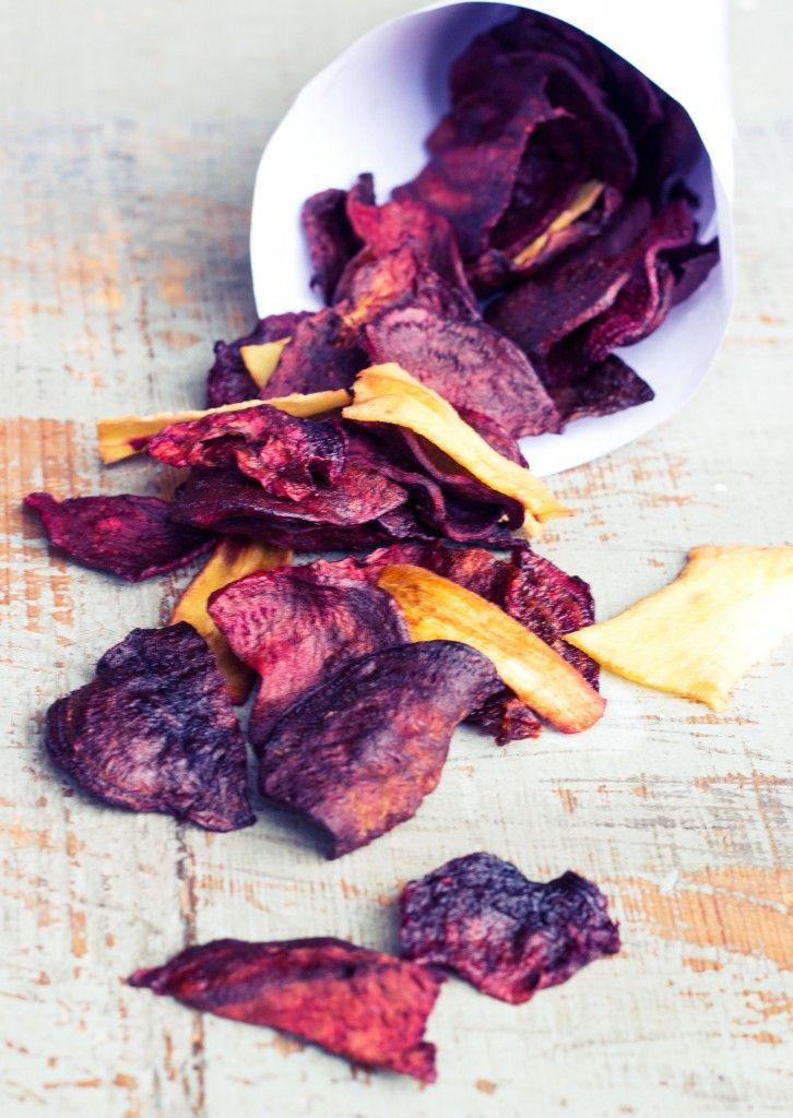 Wurzelcrispies: Bunte Gemüsechips aus der Erde - healthy soulfood