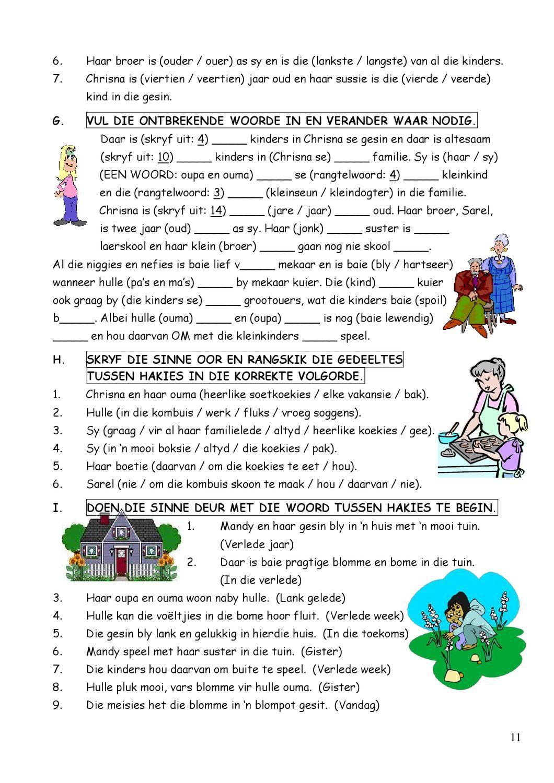 SkerpmakerB3 Afrikaans language, Afrikaans, Teaching