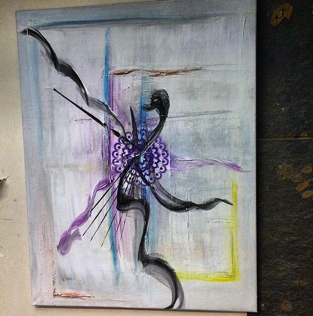 Maleri av meg