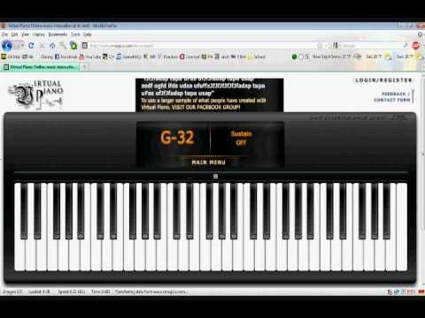 Virtual Piano Moonlight Sonata So Fun You Can Record The Keys As