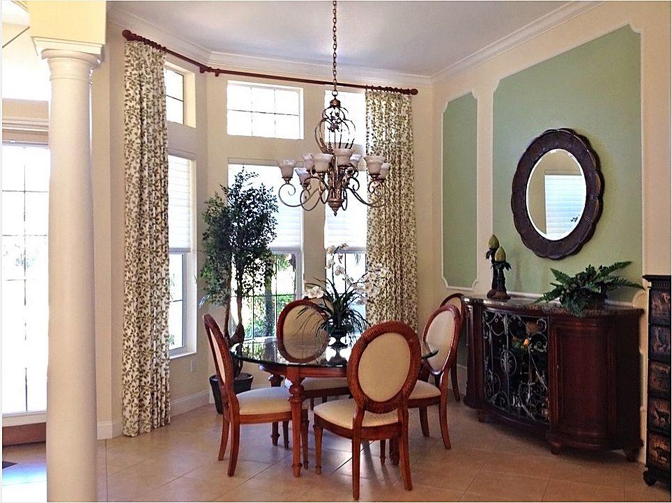 Httpsarasotawindowtreatmentsprojectdiningroomwindow Extraordinary Dining Room Window Treatments Design Decoration